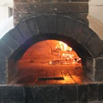 our oven in action